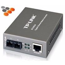 Transceiver Convertidor Ethernet A Fibra Optica Tl-mc210cs