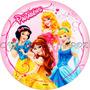 Princesas Papel Arroz 20 Cm Para Bolo