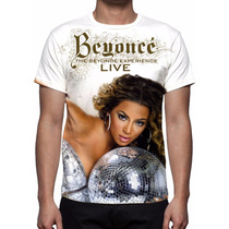 Camisa, Camiseta Beyonce - The Beyonce Experience Live