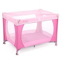 Berço Bebe Mosqueteiro Angel Pink Chiqueirinho - Burigotto
