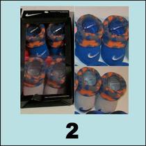 Zapatitos Escarpines Nike Jordan 0 A 6 Meses En Caja X 2 Par
