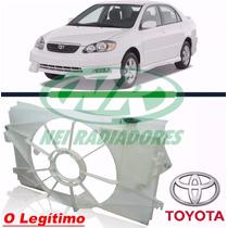 Reservatório / Defletor Radiador Corolla 2003 À 2007 Todos