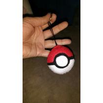 Atacado Kit Com 10 Chaveiros Pokémon Em Feltro