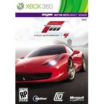 Forza Motorsport 4 Xbox 360 Mídia Física Novo Sem Lacre