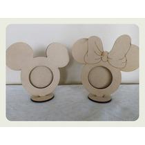Portarretratos Mickey-minnie - Mdf X10u