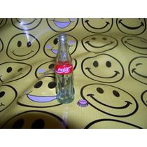 Mini Botellita Miniatura Coca Cola Y Ficha Mini
