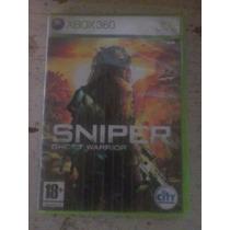 Sniper Ghost Warrior Xbox 360 (usado, Perfeito Estado)