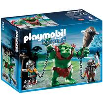 Playmobil Knights Trol Gigante Con Luchadores Art. 6004
