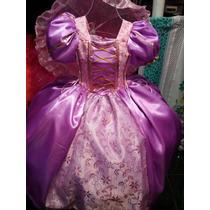 Hermoso Vestido Princesa Rapunzel