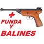 Pistola Legend Top S2 4.5 Aire Comprimido+500 Balines+funda
