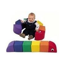 Mini Gusano Articulado Juegos Niños Y Niñas Mini Gym
