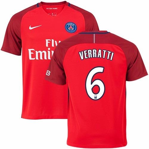 d6e9eaf6a7 Camisa Paris Saint Germain 3 Original 2016 2017 Frete Grátis - R  140