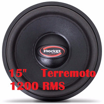 Alto Falante Woofer Ultravox Shocker Sb1215 15 1200 Rms 2+2