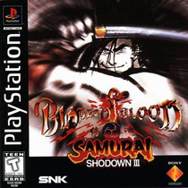 Blades Of Blood Samurai Shodown 3 Ps1 Ps2 *