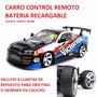 Carro Control Remoto Drift Bateria Recargable Carcasa Carbon