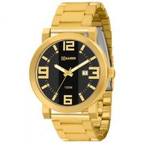 Relógio Xgames Xmgs1002 P2kx Masc Dourado Preto - Refinado
