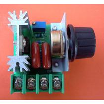 Regulador De Voltaje Control De Motores, Temperatura, Dimmer