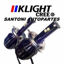 Kit De Led Cree Klight Reemplaza Xenon H1 H3 H4 H7 H11 9006