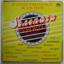 Serenata Inmortal / 16 Exitos 1 Disco Lp Vinilo