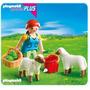 Retromex Playmobil 4765 Especial Plus Mujer Y Ovejas Granja