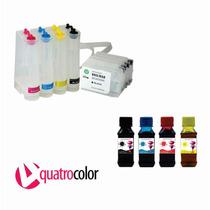 Bulk Ink Hp Pro 8100 8600 + 400 Ml De Tinta Pigmentada