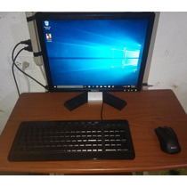 Computadora Sempron 4gb Ram 400gb Dd 1gb Video Mesa + Silla
