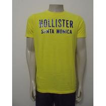 Camiseta Hollister Co. Nova E Original No Brasil