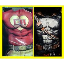 Playera Comics Marvel Original Justice League Estampado 3d