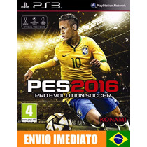 Pes 2016 Pro Evolution Soccer 2016 Ps3 Psn Envio Imediato