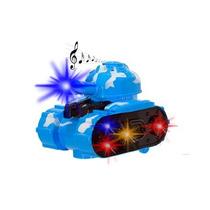 Tanque De Guerra C Luz Projetor Brinquedo Carro Infantil