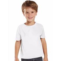 Camisetas 100% Poliéster Ifantil Sublimação Atacado Camiseta