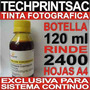 Sistema Continuo Botella Tinta Fotografica Amarilla 120 Ml