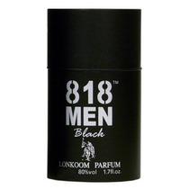 Perfume Lonkoom 818 Men Black Edt Masculino 30ml
