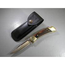 Bu110 Buck Folding Hunter 110 Navaja Madera C/point
