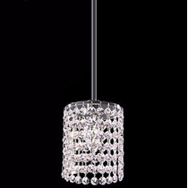 Luminária Tipo Pendente Cristal Sala Estar Jantar Quarto