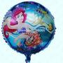 Balão Ariel Pequena Sereia (20cm Cto De Mesa) - Pct Com 10