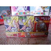 Huevo Sorpresa Tipo Kinder Dragon Ball Z 6pz Chocolate