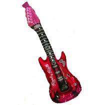 10 Guitarras Inflables Fiesta Y Eventos Globo Para Animacion