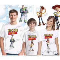 Camiseta Toy Story Buzz Woody Personalizada Aniversario 3uni