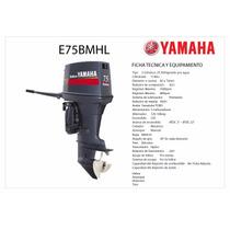 Oferta Motor Fuera Borda Yamaha Enduro 75 Hp