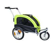 Carro Para Perro Booyah Medium Dog Stroller & Pet Bike Trail