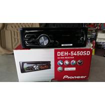Radio Cd Pioneer Deh-5450sd