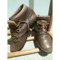 Zapatos Cuero Timberland Caminata Mujer