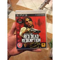 Red Dead Redemption Ps3 Mídia Física Lacrada