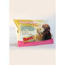 Desparasitante Vermiplex 30 Kg Perro