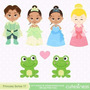 Kit Imprimible Princesa Y El Sapo Tiana Imagenes Cod 2