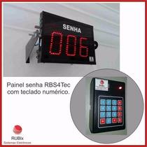 Painel Rbs4tec- 02 Painéis E 01 Teclado (1 Painel Espelho)