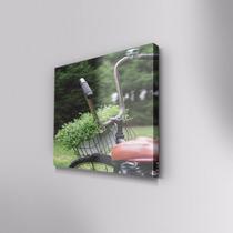 Cuadro Decorativo Bici En Canvas 60x40 Cm