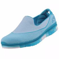 Zapatos Skechers Para Damas Go Flex Walk 14010 - Turq