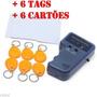 Duplicador Copia Cartões Tag Rfid 125khz Em4100 C/6 Key Card
